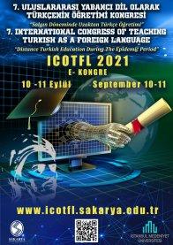 7. Uluslararası Yabancı Dil Türkçenin Öğretimi Kongresi