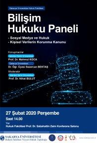 Bilişim Hukuku Paneli