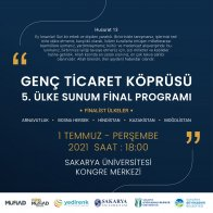 Genç Ticaret Köprüsü 5. Ülke Sunum Final Programı